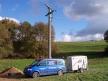 Overhead network - new mast performance