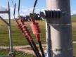 Overhead line - new mast performance