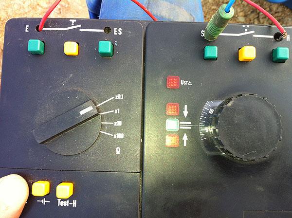 Grounding measurement