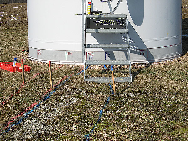 Cable location, empty pipe location, cable selection