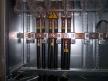 Low voltage transformer bridges at distribution from below