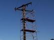 Alu scaffolding mast scaffold 14m