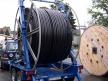 PE pipe drum 3mØ - transport